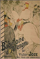 babylon d'allemagne by henri de toulouse-lautrec