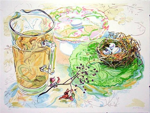 rosehip nest by janet fish
