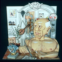 picasso by red grooms