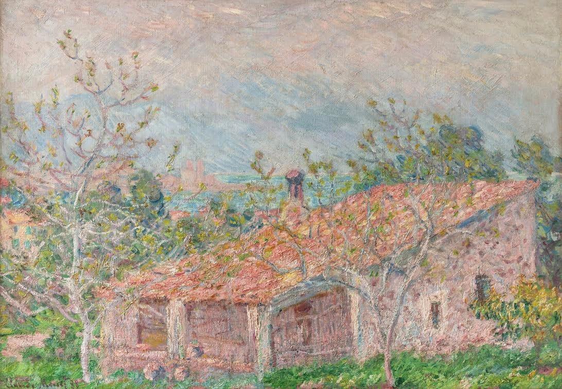 Maison du Jardinier - Antibes von Claude Monet auf artnet
