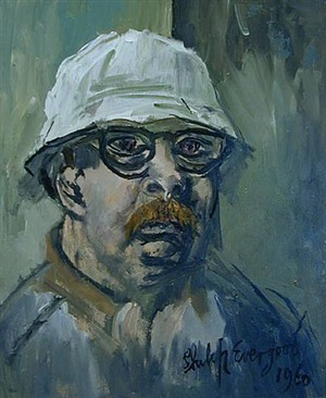 self portrait by philip evergood