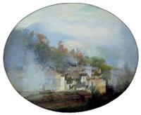 houses, muro lucano by joseph stella