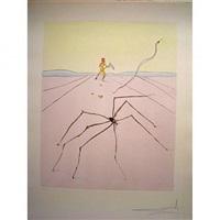 the weaver spider by salvador dalí