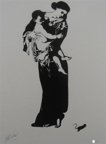 Madonna La Madone Von Blek Le Rat Auf Artnet