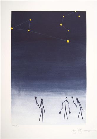 leo (from leo castelli's 90th birthday portfolio) by jasper johns