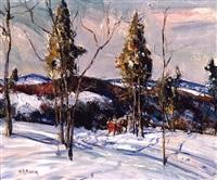 sumneytown hills by walter emerson baum