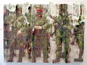 paramilitary paintant by fabian marcaccio