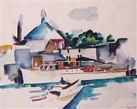 boats by william zorach