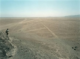 nasca lines 1 (with j.e. bedoya), nasca, peru by thomas struth