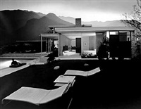 kauffman residence (richard neutra, architect), palm springs by julius shulman