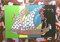 ottoman galleon by yigit yazici