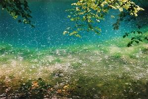 blautopf, landscape by wolfgang tillmans