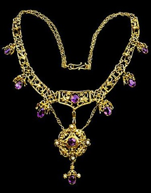 renaissance revival necklace by artificers' guild