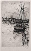 schuylkill river by john french sloan