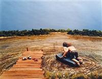 the raft, 2003 by sarah anne johnson