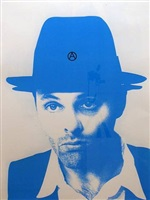 beuys blue a by gavin turk