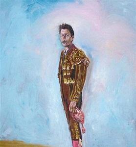portrait of gary oldman by julian schnabel