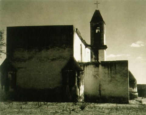 church (photograph copyright ©1940 by the aperture foundation, inc., paul strand archive) (37220) by paul strand