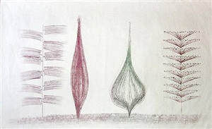 untitled (hb 812) by harry bertoia