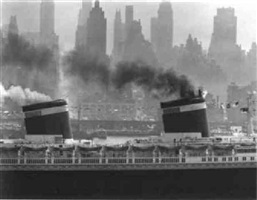 new york harbor by andreas feininger