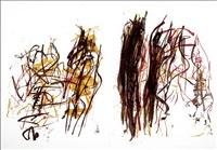 trees i by joan mitchell