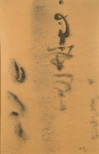 calligraphic by mark tobey