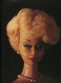 barbie (head shot) by david levinthal