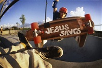 jesus saves, marina del rey by hugh holland
