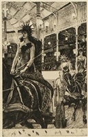ces dames des chars by james jacques joseph tissot