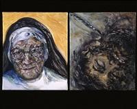 nun and prisoner by maggi hambling