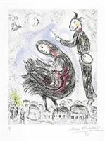 la femme-oiseau by marc chagall