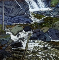 base of falls by neil welliver