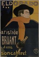 eldorado: aristide bruant by henri de toulouse-lautrec