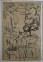 cordage, femme et bateau by le corbusier