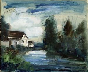 untitled by maurice de vlaminck