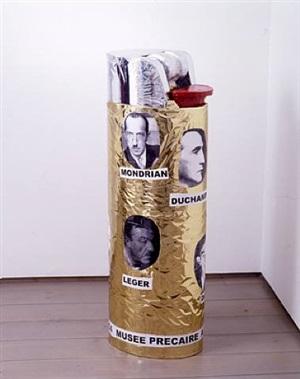 musée précaire albinet (lighter) by thomas hirschhorn