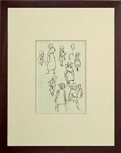 sheet of studies by edward hopper