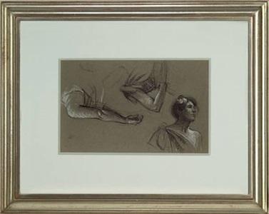 three studies of a woman by edward hopper