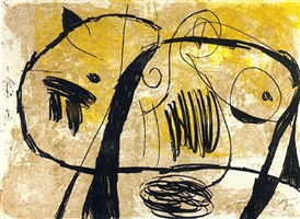la commedia dell'arts v by joan miró