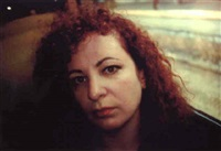 self portrait of the train # 2 by nan goldin