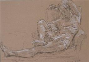 jon reading by paul cadmus