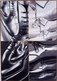 untitled (shoes) by alan michael