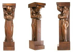 figurative column by ivan mestrovic