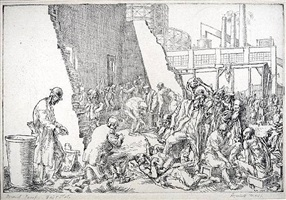 east tenth street jungle by reginald marsh