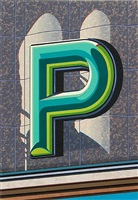 an american alphabet: p by robert cottingham