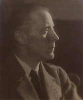 portrait of jacques villon by man ray