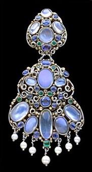 arts & crafts clip brooch by dorrie nossiter