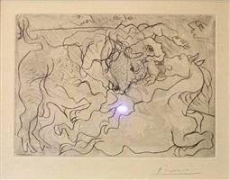 'morte au soleil iv' vollard suite by pablo picasso