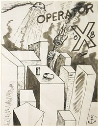 untitled (operator) by horace clifford westermann