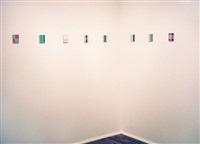 joe begonia 'blue, period...etc.' view of second room by joe begonia